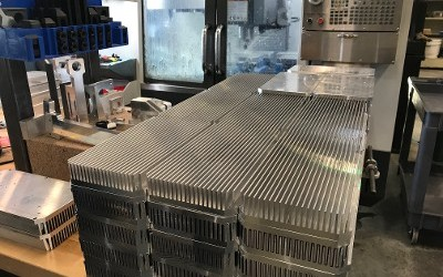 CNC Machined Heat Sinks